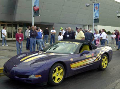 The Chevrolet Corvette Pace Car Registry PCR Reunion - Cool cars made in 2001