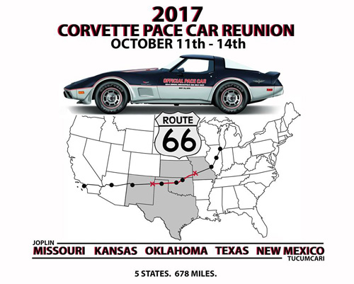 The Chevrolet Corvette Pace Car Registry Welcome